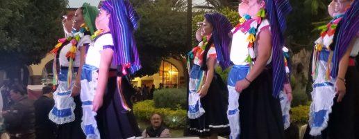 Dancers at the Dia de Los Muertos Fest in Tequis